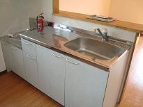 対面キッチン(写真は2階参考)